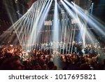 27.01.2018. riga latvia. world... | Shutterstock . vector #1017695821