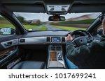 urban car drive with external... | Shutterstock . vector #1017699241