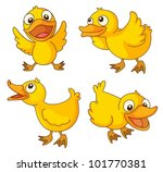 5,adorable,animal,art,baby,bill,bird,cartoon,character,clipart,clipping path,comical,cute,down,duck