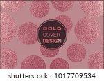 rose quartz glossy background.... | Shutterstock .eps vector #1017709534