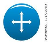 cursor displacement web icon... | Shutterstock .eps vector #1017720415
