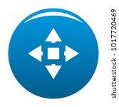 cursor displacement icon vector ... | Shutterstock .eps vector #1017720469