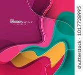 vector abstract design... | Shutterstock .eps vector #1017728995
