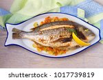 Grilled Seabream On Carrot ...