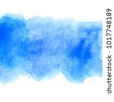 abstract blue water color... | Shutterstock . vector #1017748189