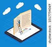 online education isometric...   Shutterstock .eps vector #1017754069