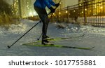 Photo Of Skier In Park In...
