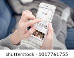 kyiv  ukraine   january 24 ...   Shutterstock . vector #1017761755