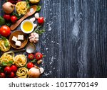 top view of all the necessary... | Shutterstock . vector #1017770149