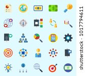 icons about marketing with...   Shutterstock .eps vector #1017794611