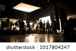 behind the scenes of video... | Shutterstock . vector #1017804247