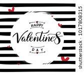 Happy Valentine's Day. Vector...