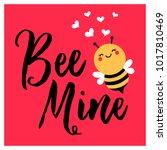 Cute Bee Cartoon Illustration...