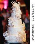 Rich Layered Wedding Cake...