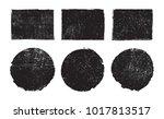 vector grunge backgrounds... | Shutterstock .eps vector #1017813517