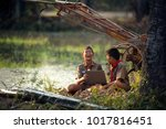 rural students in remote rural... | Shutterstock . vector #1017816451