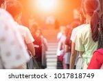group of class of school... | Shutterstock . vector #1017818749