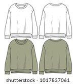 long sleeve vector   Shutterstock .eps vector #1017837061