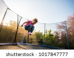 kid enjoying leisure time as... | Shutterstock . vector #1017847777