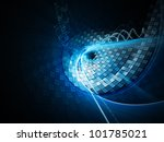 abstract blue and black... | Shutterstock . vector #101785021