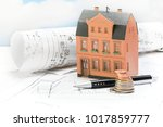 investment in old building... | Shutterstock . vector #1017859777