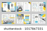 brochure creative design.... | Shutterstock .eps vector #1017867331