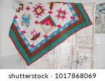 interior  background  handmade... | Shutterstock . vector #1017868069