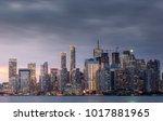 modern buildings in toronto... | Shutterstock . vector #1017881965