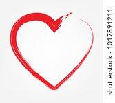 love design  vector... | Shutterstock .eps vector #1017891211