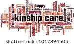 kinship care word cloud concept.... | Shutterstock .eps vector #1017894505
