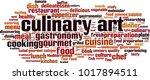 culinary art word cloud concept.... | Shutterstock .eps vector #1017894511