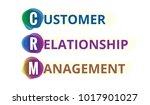 crm   customer relationship...   Shutterstock .eps vector #1017901027