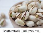pistachios nuts close up image .