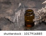essential oils and lavender on... | Shutterstock . vector #1017916885