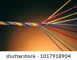 Colourful Threads Of Silk Satin ...