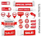 sale banners  vector eps10... | Shutterstock .eps vector #101792371