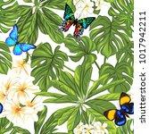 seamless pattern  background... | Shutterstock .eps vector #1017942211