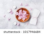 aromatherapy  beauty and spa... | Shutterstock . vector #1017946684