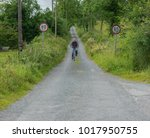 editorial use only  man cycling ...   Shutterstock . vector #1017950755