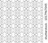 seamless geometric ornamental...   Shutterstock .eps vector #1017967045