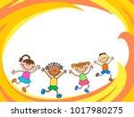 children banner template   Shutterstock .eps vector #1017980275