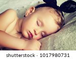 little newborn baby | Shutterstock . vector #1017980731