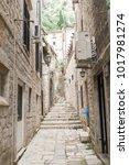 old town of kotor  montenegro   Shutterstock . vector #1017981274