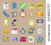 icons education and school with ... | Shutterstock .eps vector #1018002757