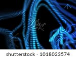 abstract banner template with...   Shutterstock .eps vector #1018023574