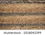 underground road layer asphalt... | Shutterstock . vector #1018042399