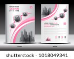 annual report cover design ... | Shutterstock .eps vector #1018049341