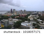 panaramic view from above of...   Shutterstock . vector #1018057171