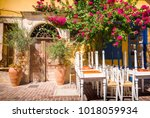 typical architecture in old...   Shutterstock . vector #1018059934