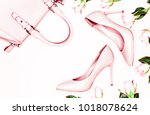 beauty  art minimal fashion... | Shutterstock . vector #1018078624